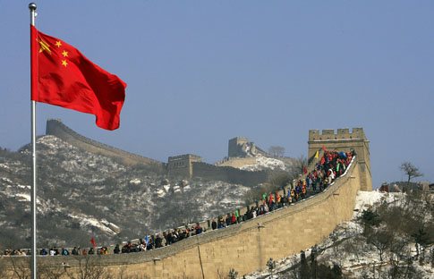 CHINA-HERITAGE-GREAT WALL-FILES