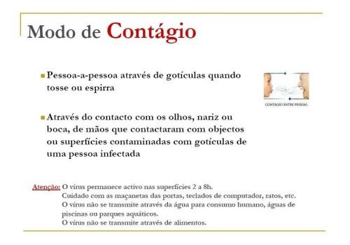 modo contágio gripe A